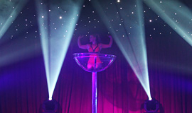 Burlesque Act, Live Show