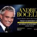 Andrea Bocelli – O2