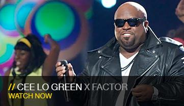 Cee Lo Green, X-Factor
