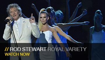 Rod Stewart, Royal Variety Performance