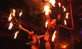 Fire Breathing Act, Corporate Event