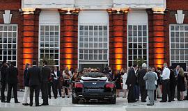 Philip Treacy & Bentley launch, Kensington Palace, UK / Pebble Beach, USA