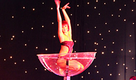 Burlesque Performance, Corporate Event