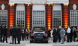 Philip Treacy & Bentley launch, Kensington Palace, UK / Pebble Beach, USA
